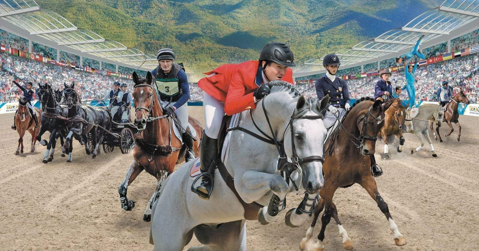 Haygain Hay Steamers Heating Things Up at the World Equestrian Games