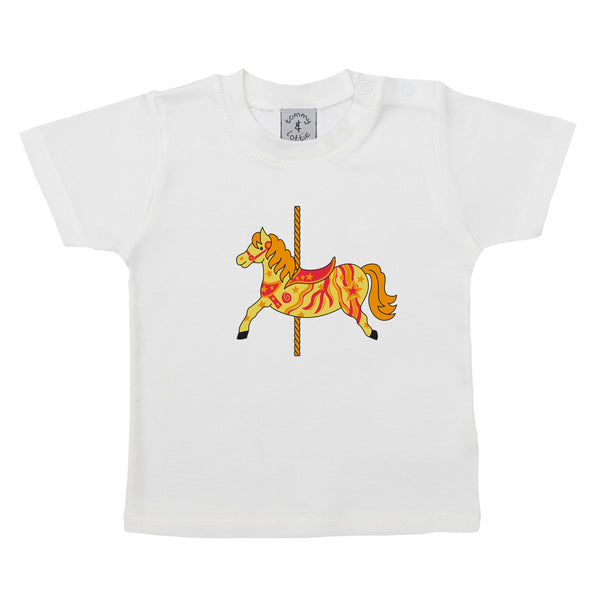 Baby T-Shirt by Tommy & Lottie -  Carousel Short Sleeve