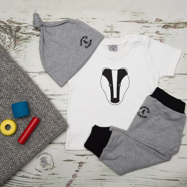 Baby Gift Set by Tommy & Lottie - Badger