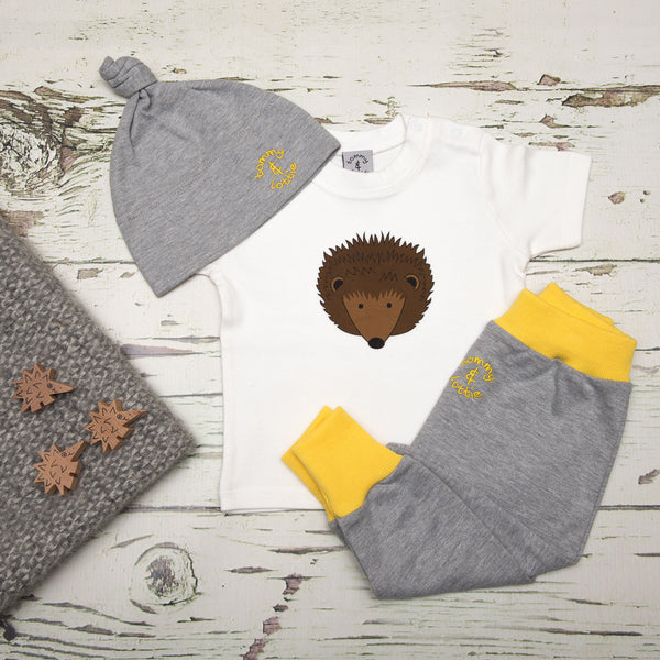Baby Gift Set by Tommy & Lottie - Hedgehog