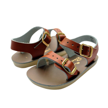 Load image into Gallery viewer, Salt Water Sandals / Sandalen / Sea Wee / Tan