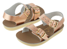 Load image into Gallery viewer, Salt Water Sandals / Sandalen / Sea Wee / Rose Gold