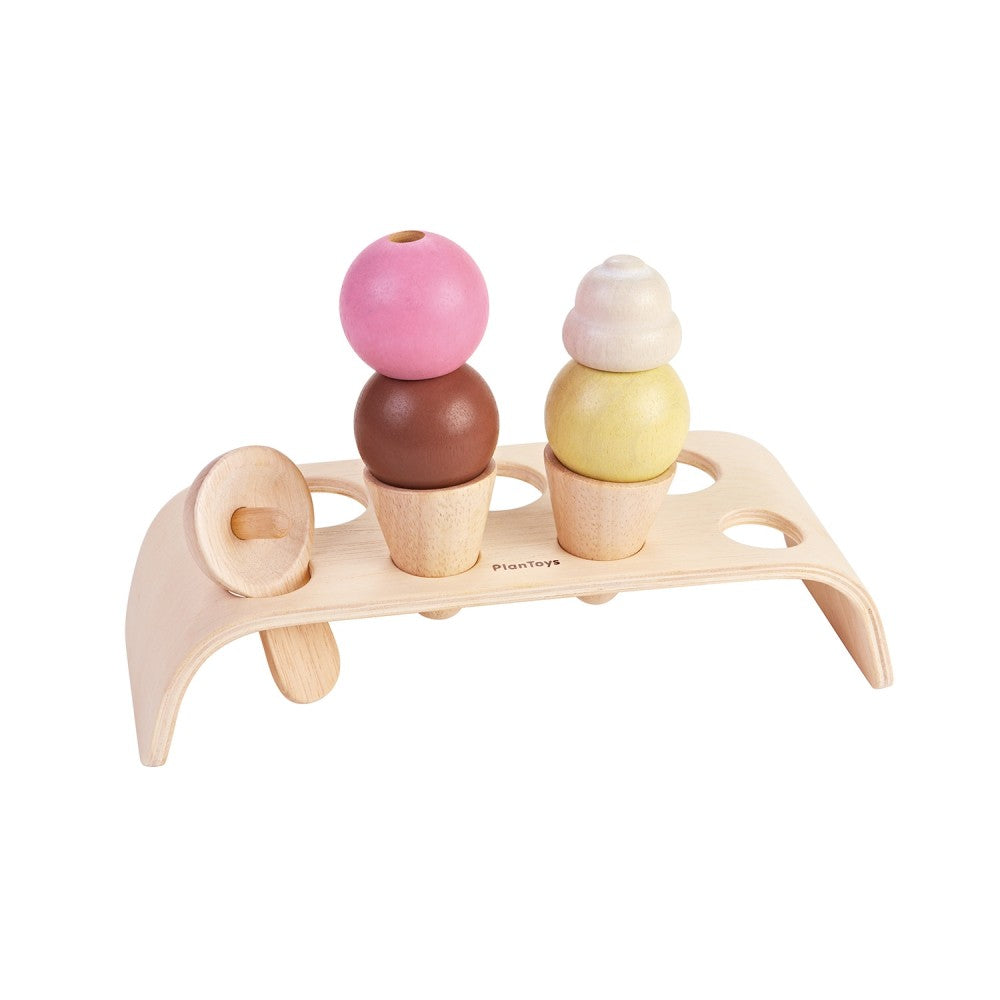 Plantoys / 3+ / Ice Cream Set