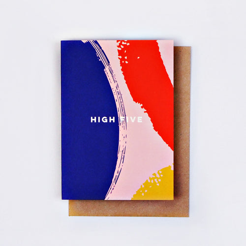 The Completist / Graphic Card / Wenskaart / High Five