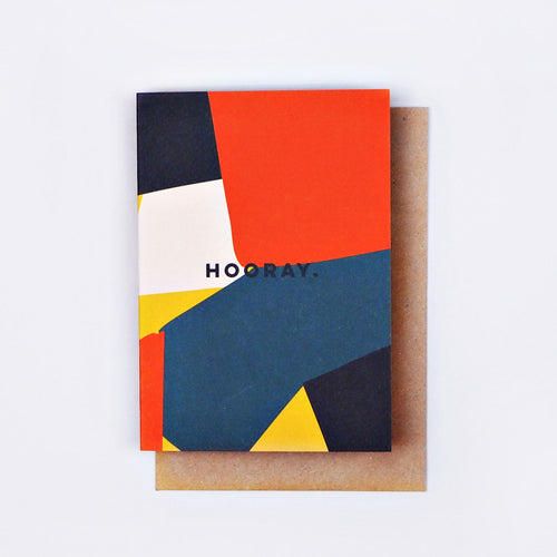 The Completist / Graphic Card / Wenskaart / Shapes / Hooray