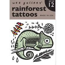 Load image into Gallery viewer, Wee Gallery / Tattoos / Rainforest