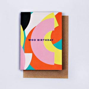 The Completist / Graphic Card / Wenskaart / Birthday Circles