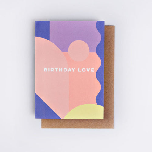 The Completist / Graphic Card / Wenskaart / Miami Birthday Love