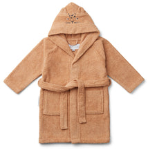 Load image into Gallery viewer, Liewood / Lily Bathrobe / Badjas / Leopard Apricot