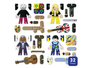 PlayPress Toys / Talent Show Character Set
