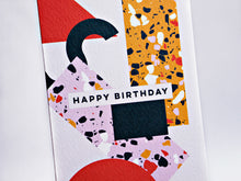 Load image into Gallery viewer, The Completist / Graphic Card / Wenskaart / Memphis / Birthday