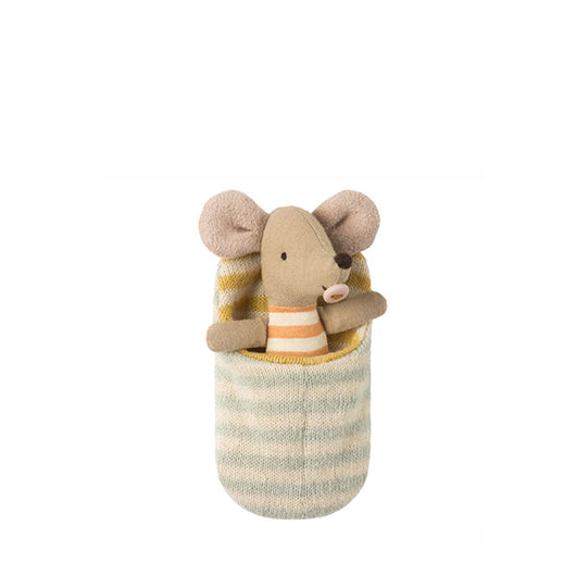 Maileg / Baby Mouse in Sleeping Bag