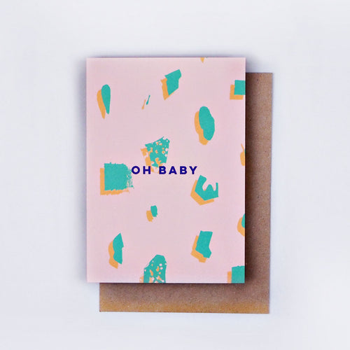 The Completist / Graphic Card / Wenskaart / Oh Baby