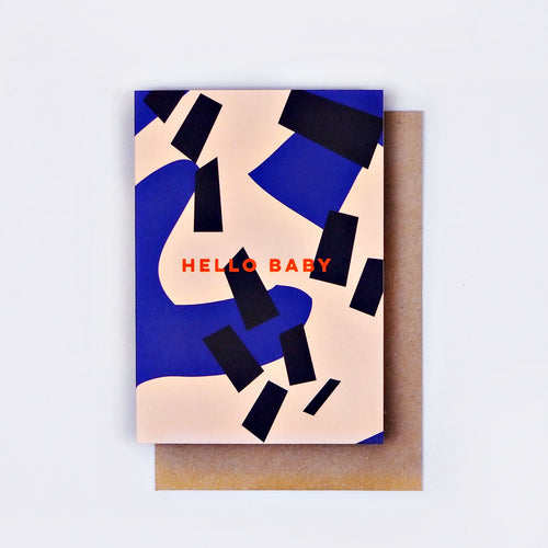 The Completist / Graphic Card / Wenskaart / Hello Baby