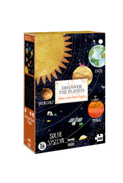 Londji / Glow In The Dark Puzzle / Discover The Planets / 6Y+