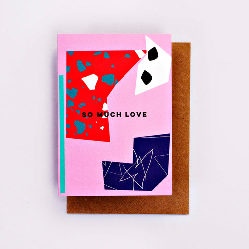 The Completist / Graphic Card / Wenskaart / Cut Out / So Much Love