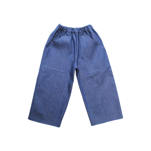 Pippins Denim / Wide Leg Jeans / Blue