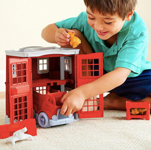 Load image into Gallery viewer, Green Toys / 2+ / Fire Station Play Set