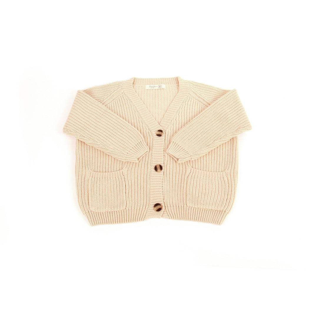 Vega Basics / The Cordero Knit Cardigan / Camel