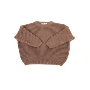 Vega Basics / The Cordero Knit Sweater / Taupe