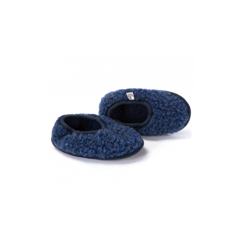 Alwero / Wool Booties / Dark Blue