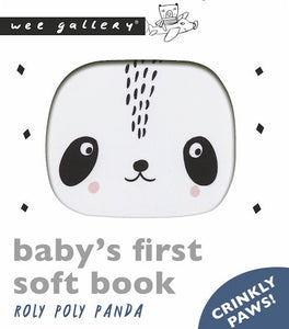 Wee Gallery / Soft Book / Roly Poly Panda