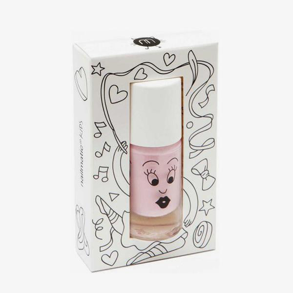 Nailmatic Kids / Water-based nail polish / Bella / Pastel pink