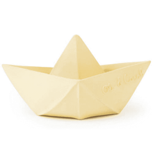 Load image into Gallery viewer, Oli & Carol / Badspeelgoed / Origami Boat / Yellow