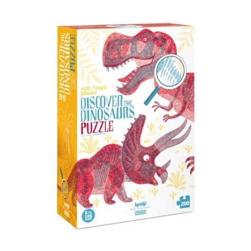Londji / Discover The Dinosaurs Puzzle / 8+