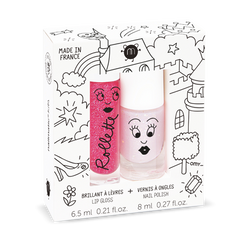 Nailmatic Kids / Set Lipgloss + Nagellak / Fairytales