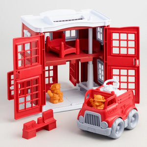 Green Toys / 2+ / Fire Station Play Set
