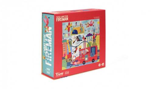 Londji / Puzzle / I want to be ... Fireman / 3-6Y