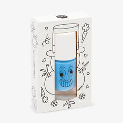 Nailmatic Kids / Water-based nail polish / Freezy / Blue