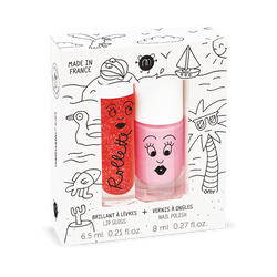 Nailmatic Kids / Set Lipgloss + Nail polish / Holidays