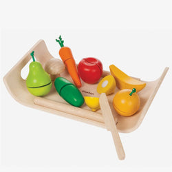 Plantoys / 3+ / Fruit & Vegetables Set