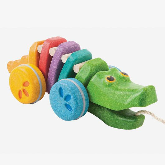 Plantoys / 1+ / Dansende Alligator / Rainbow Edition