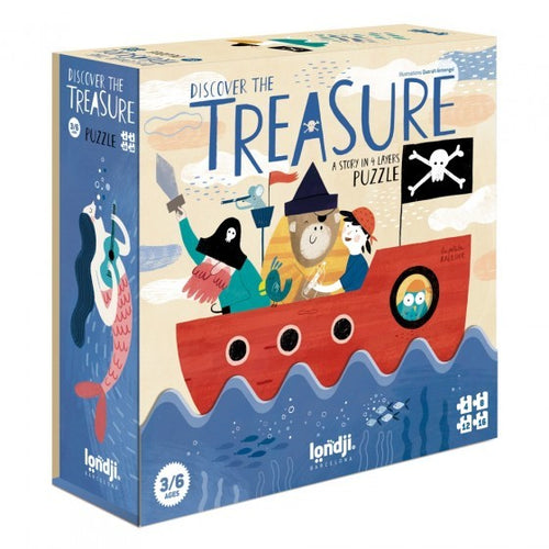 Londji / Puzzle / Discover the Treasure / 3-6Y
