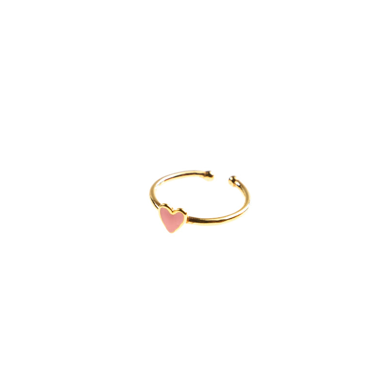 Selva Sauvage / Ring / Heart Soft Pink
