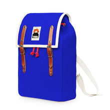 Load image into Gallery viewer, Ykra / Backpack / Rugzak / Matra Mini / Cotton Straps / Blue