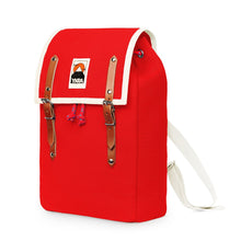 Load image into Gallery viewer, Ykra / Backpack / Rugzak / Matra Mini / Cotton Straps / Red