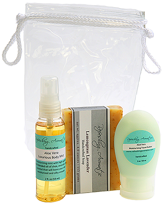 Aloe Vera Travel Set