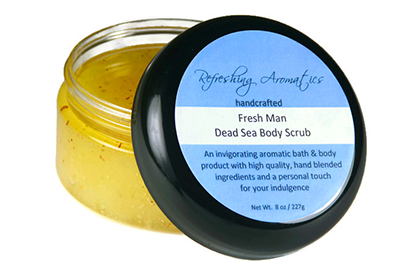 Fresh Man Body Scrub