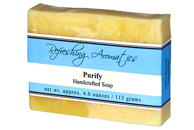 NATURAL HANDCRAFTED SOAP -PURIFY