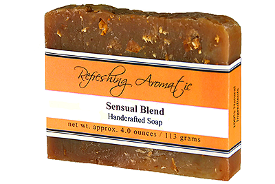NATURAL HANDCRAFTED SOAP - SENSUAL BLEND