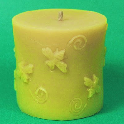 Bee Cylinder Candle