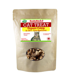 Cat Treats * Organic Catnip & Liver