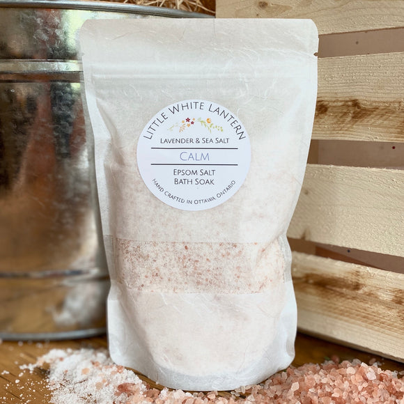 Luxurious Soothing & Detoxing Bath Salts