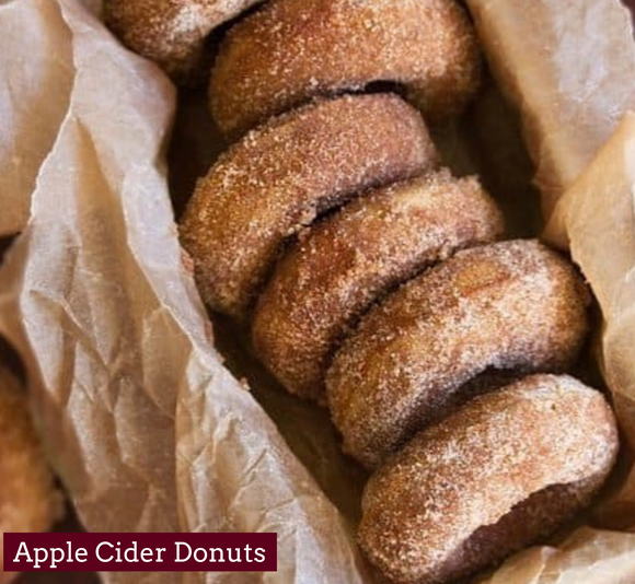 Apple Cider Doughnuts - 1/2 Dozen