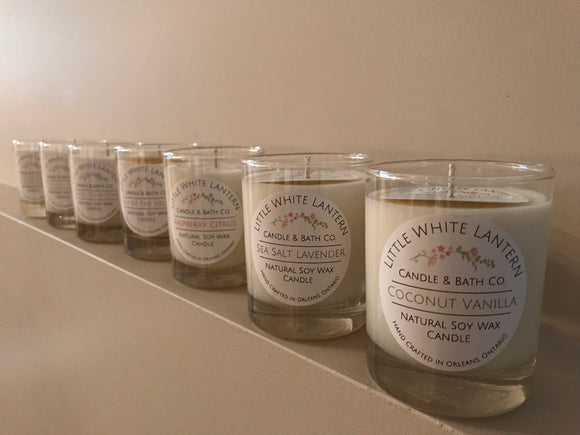 Hand-poured Organic Soy Wax Candles
