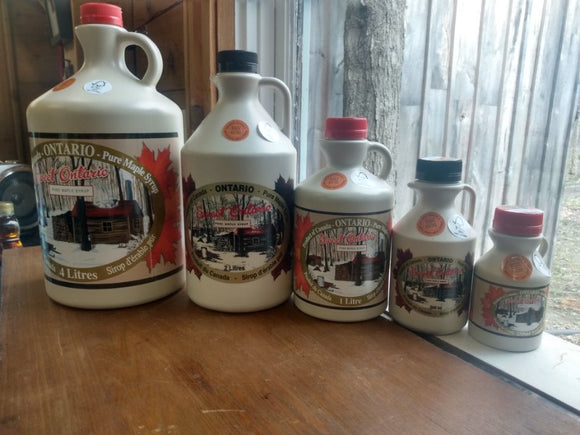 Maple Syrup - Plastic Jugs